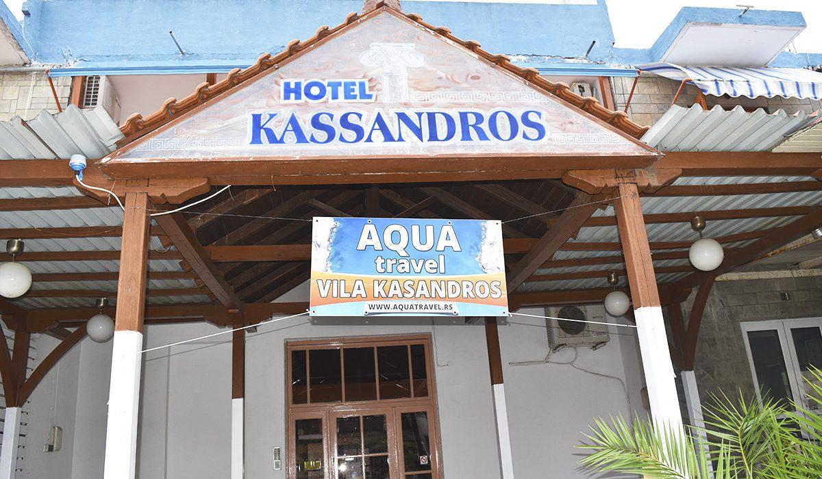 hotel vila kassandros pefkohori apartmani spolja kasandra halkidiki grcka leto 2018